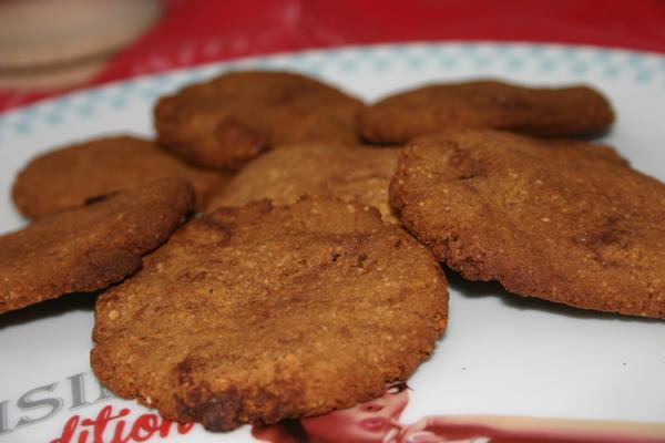 Recette de cookies à la farine de noix de coco