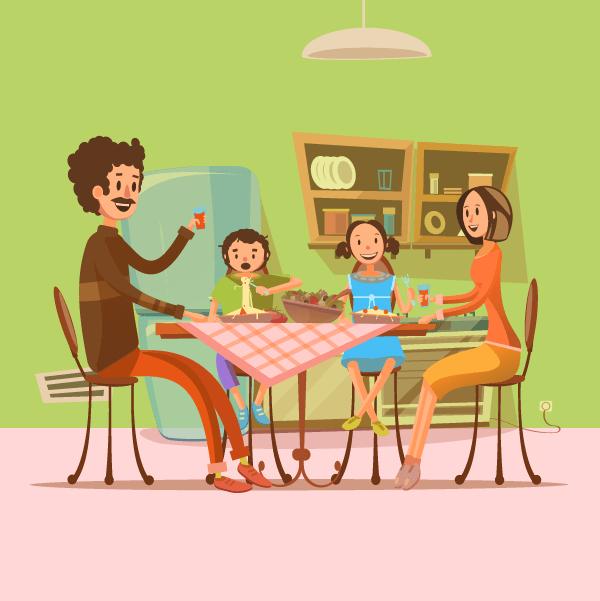 pour que vos enfants mangent plus de l gumes manger en famille pour une vie saine coach. Black Bedroom Furniture Sets. Home Design Ideas