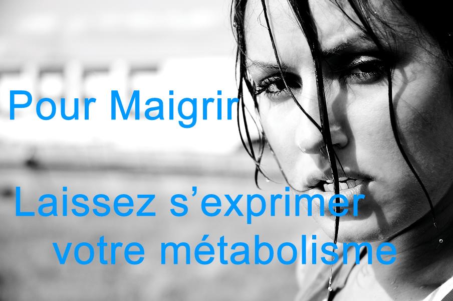 perdre du poids métabolisme