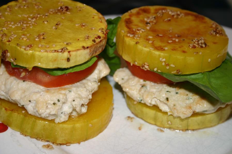 burger minceur butternut
