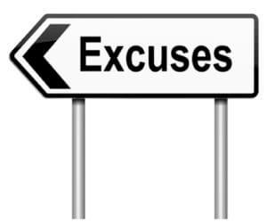 gacher son régime excuses