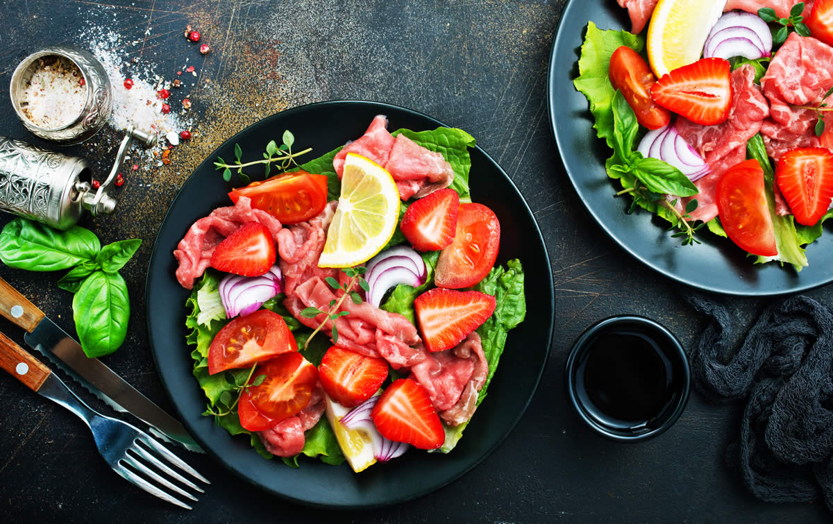 recette fraise minceur