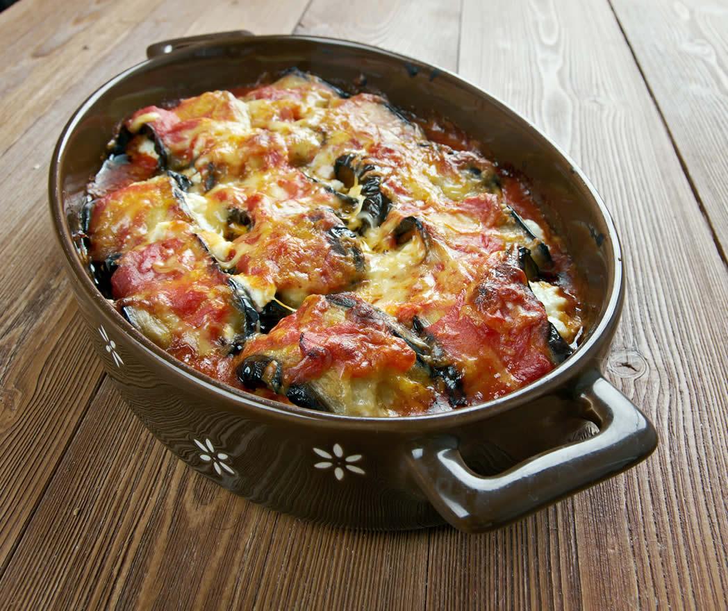recette gratin aubergine
