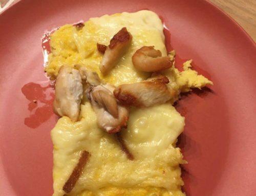 Tarte fromage raclette à la courge