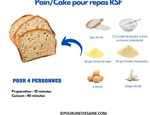 Pain (cake) RSF à la farine de Lupin