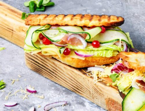 Sandwich charcuterie Métabolique